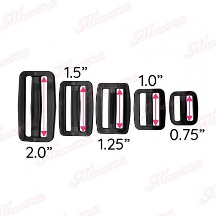 """Bag Belt Adjuster / Size 0.75"""", 1.0"""", 1.25"""", 1.5"""" & 2.0"""""""